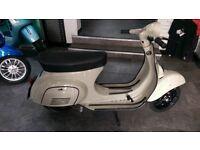 Classic Fully Restored 1983 Vespa Primavera 125 Scooter
