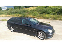 Mercedes-Benz C32 AMG Estate 3.2L supercharged 354BHP 450Nm torque only £295 VED, and LPG!! Fab car