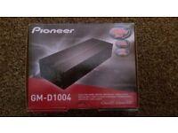 "pioneer GH-D1004 amp - jvc speakers - shark 10""sub/amp/box - amp wiring kit - reversing cameras x 2"