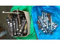 Ground Anchor bolts and other Nuts and bolts