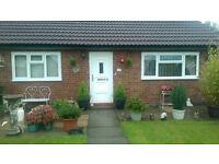 Council 2 bed bungalow Exchange. Culcheth, Warrington
