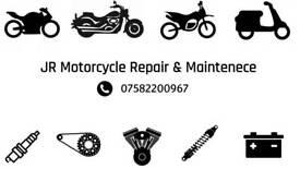 Motorcycle repair & maintenance