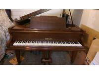 "Challen 4'8"" baby grand piano"