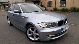 2009 BMW 1 Series 116D Sport, 6 Speed Manual, 5 door, HPI Clear £3750