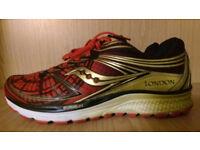 Saucony Gudie 9 London Marathon 2016 New. Size 9 uk