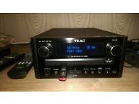 TEAC CR_H258i CD Receiver With KODA Speakers AM/FM/DAB Radio. CD. USB and SD CARD