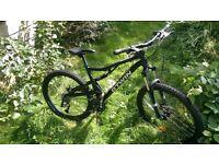 B'TWIN Rockrider 500s full suspension mountain bike - Medium