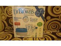Dr Brown's Natural Flow deluxe newborn gift set