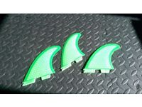 FCS2 fins. Brand new and never used. Surfboard.