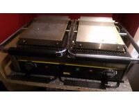 Buffalo panini grill/toaster/griddle