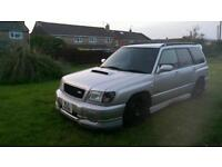 Subaru forester sti turbo not Impreza wrx