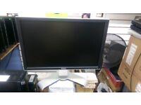 """DELL 2009WT 20"""" WIDESCREEN MONITOR DVI/USB/VGA"""