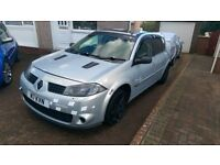 Renault Megane 1.6 vvt 225 R26 f1 eddition car modified drives as it should full leather interion