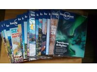 Lonely Planet Traveller Magazines Issues 69 - 85 17 Mags Excellent Condition