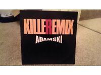 "ADAMSKI - KILLER REMIX FEAT SEAL 1990 ORIGINAL 12"" VINYL"