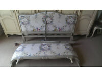 French style king size bed bargain £125