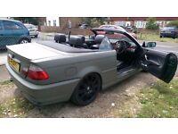BMW 320 Convertible M3 sports kit 2003