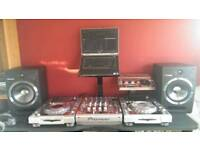 Pioneer platinum limited edition package with pioneer SDJ08 speakers (laptop not included)
