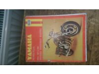 Yamaha xs 1100 fours owners manual