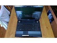 """Toshiba Satellite 17"""" media laptop windows 10 pro"""