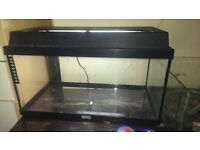 Aquarium 50lt plus heaters filters and other bits and pieces