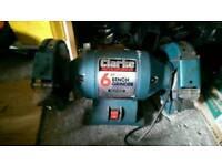 Clarke bench grinder in excellent working condition