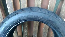 Vee Rubber Tyre 120/70 12 RRP over £41 on My Tyres only 1800 Miles Honda MSX Yamaha Peugeot Sym