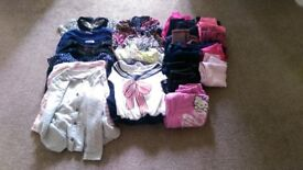 Girls bundle of clothes 7-8