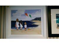 Large Michelle Carlin Irish painting