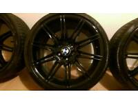 "19"" BMW M sport Alloys"