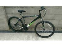 Raleigh venture mountain bike, 5 miles use only !!!