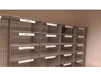 Office Mail Sorting Rack