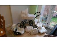Babystyle by Prestige 3in1 travel system with extras like new