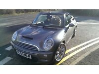 Mini Cooper S convertible supercharged