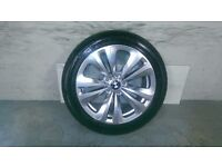 ALLOYS X 4 OF 18 INCH GENUINE BMW/6/AND/7/SERIES/STYLE 234/FULLY POWDERCOATED INA SHADOW/CHROME NICE