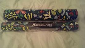 1 and a half roll of Borastapeter Scandinavian designer wallpaper