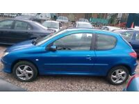 Peugeot 206, HDI, 1.4, Diesel, Manual, Blue, Cat C, MOT