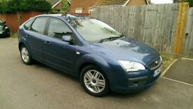 FORD FOCUS 1.6 GHIA 5 DOOR HATCHBACK, FULLY LOADED DRIVES PERFECT, VERY CHEAP TO RUN, LONG MOT.