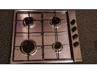 New Candy Gas Hob Stainless Steel