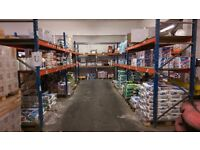 PLANNED STORAGE M SERIES HEAVY DUTY COMMERCIAL WAREHOUSE PALLET RACKING BAY UNIT