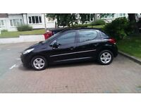 2011 Peugeot 207 Envy 1.4 petrol , 1 year mot , low mileage just 34000