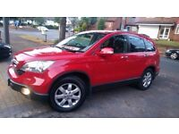 HONDA CRV, 2.2 Diesel, Manual, Red, Fully Loaded