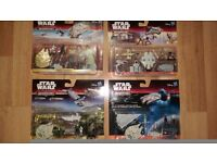 Star Wars Micro Machine Playset figures and vehicle toys/ some gold