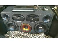 Subwoofer amplifier 6x9 bugles