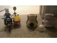 Wallace & gromit egg & soldier holder