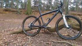 Custom carbon fiber xc bike