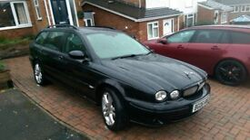 Jaguar X-type Estate 2.2 Diesel High Spec'd Sports Premium and other extras. VGC