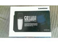Samson c1 microphone