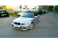 Bmw 325ci convertible M SPORT 2001 manual fully loaded low milleage immaculate condition