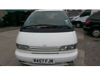Toyota Previa 2.4 GS 4dr, LPG,8 Seats, White, Manual, MOT, PX Welcome